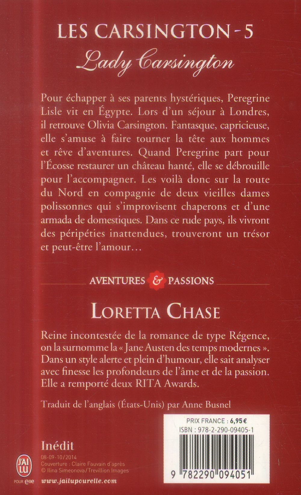 Les Carsington t.5 ; lady Carsington