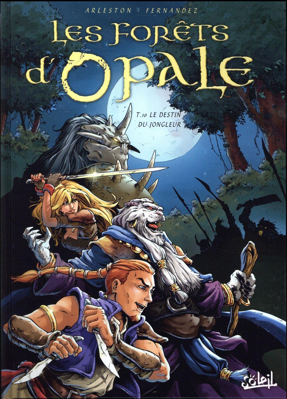 Les forêts d'Opale T.10 ; le detin du jongleur