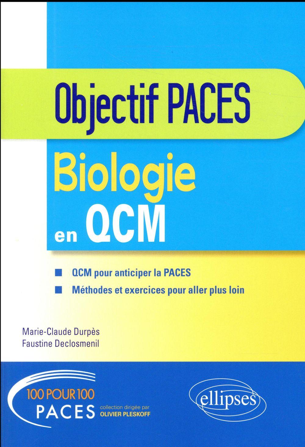 Biologie en QCM