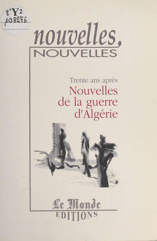 Nouvelles de la guerre de l'algerie
