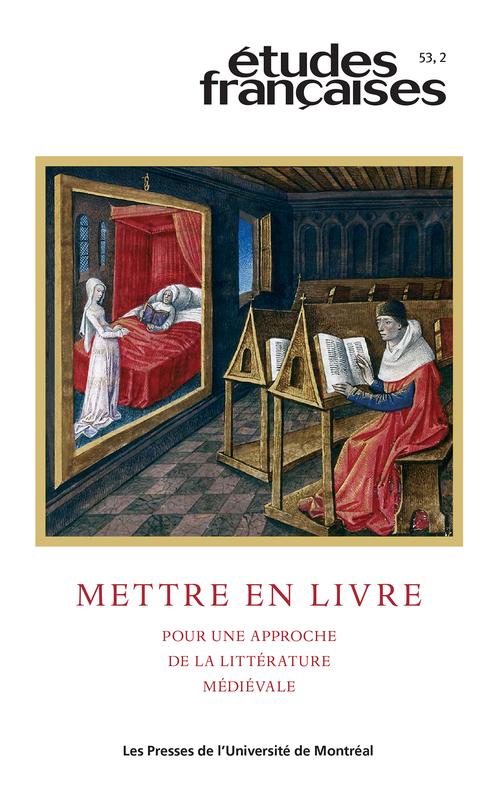 Études françaises. Vol. 53 No. 2,  2017