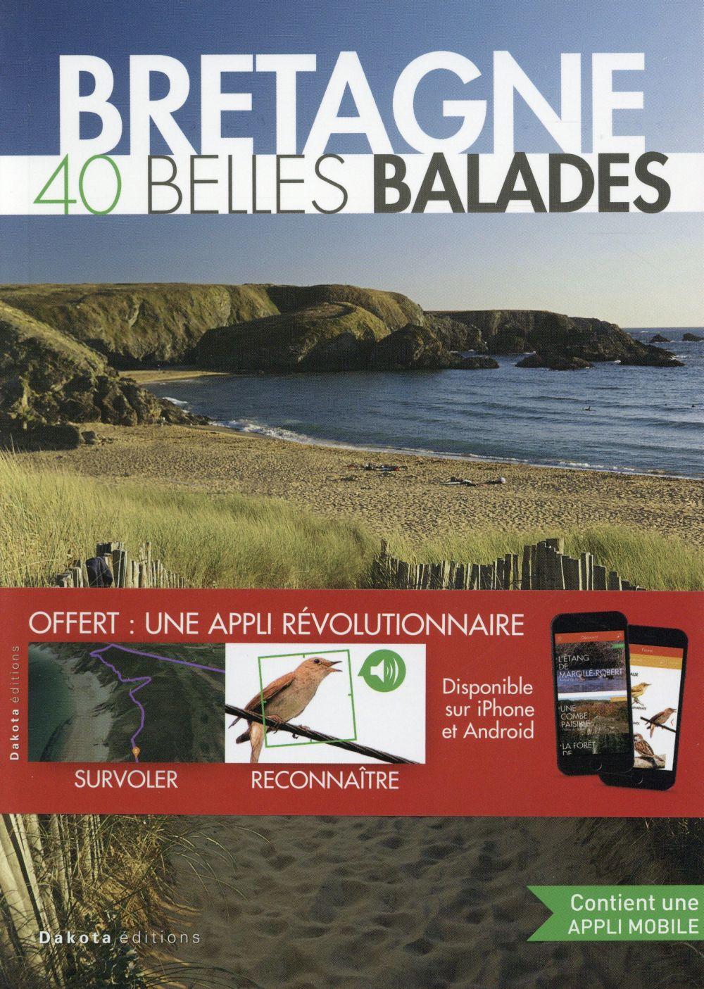BALADES NATURE ; Bretagne, 40 belles balades