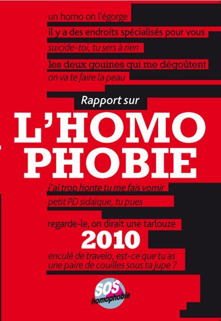 rapport sur l'homophobie (édition 2010)