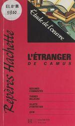 Vente Livre Numérique : L'étranger, de Camus  - Mariel Morize
