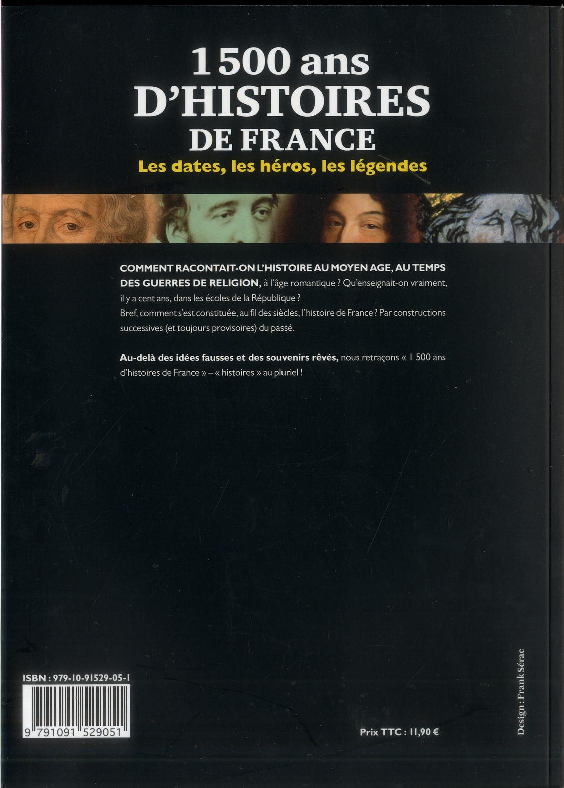 1500 ans d'histoire de France