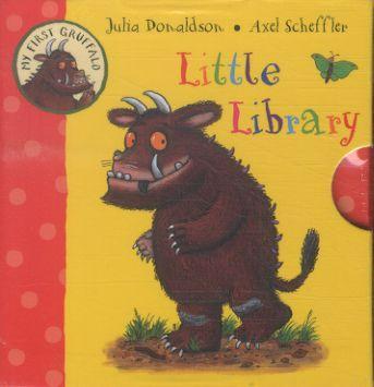MY FIRST GRUFFALO LITTLE LIBRARY - 4 BOARD BOOKS