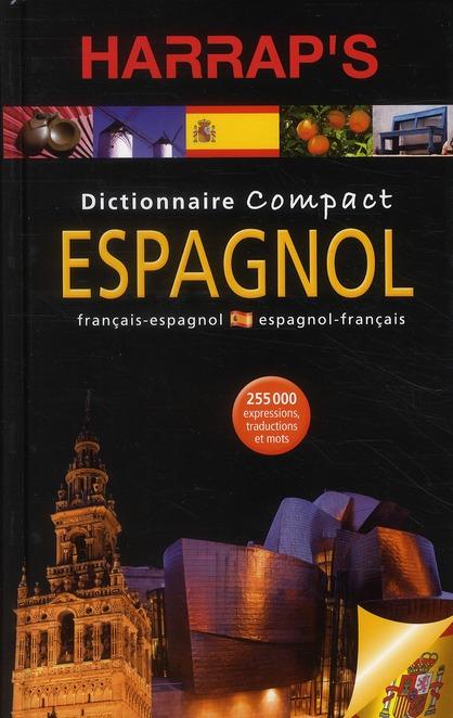 Dictionnaire Harrap'S Compact ; Espagnol-Francais/Francais-Espagnol (Edition 2010)