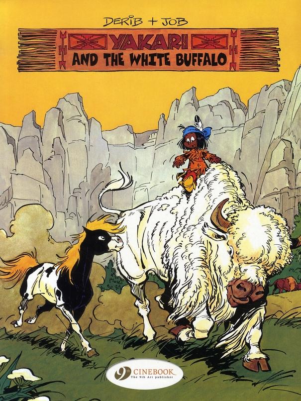 Yakari T.2 ; Yakari and the white buffalo