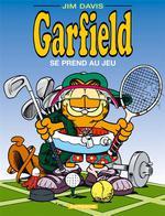 Couverture de Garfield t.24 ; garfield se prend au jeu