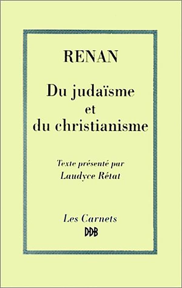 Du judaisme au christianisme