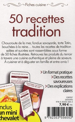 50 recettes tradition