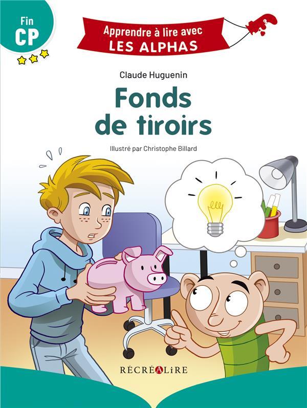 Apprendre à lire avec les Alphas ; fonds de tiroirs