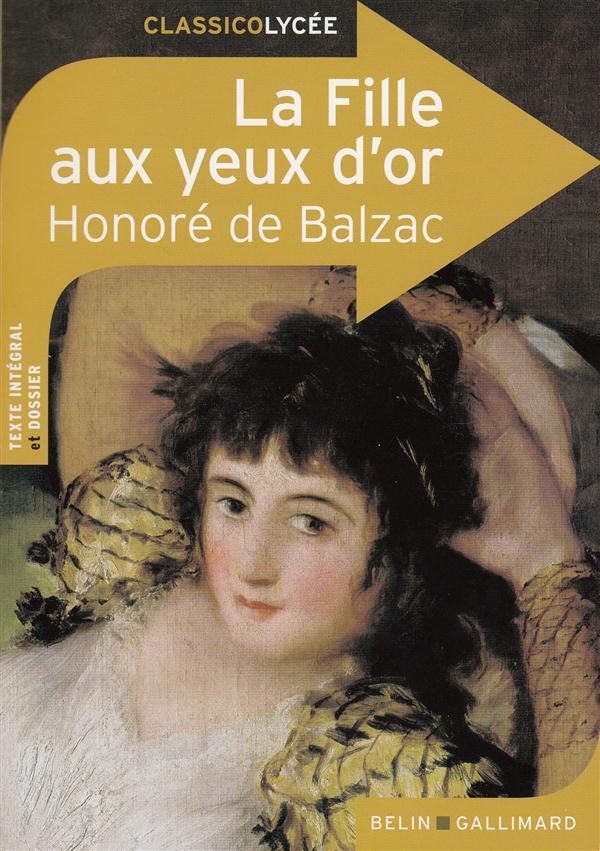 La fille aux yeux d'or, d'Honoré de Balzac