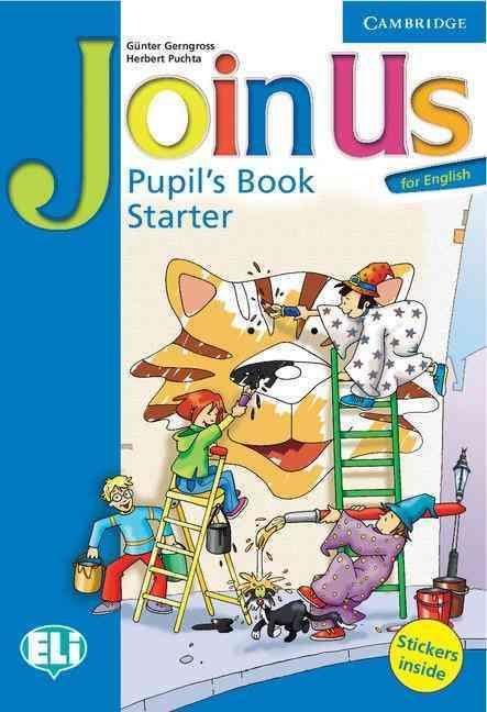 JOINS US FOR ENGLISH STARTER PUPIL''S BOOK