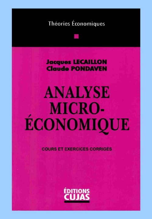analyse microéconomique (5e édition)