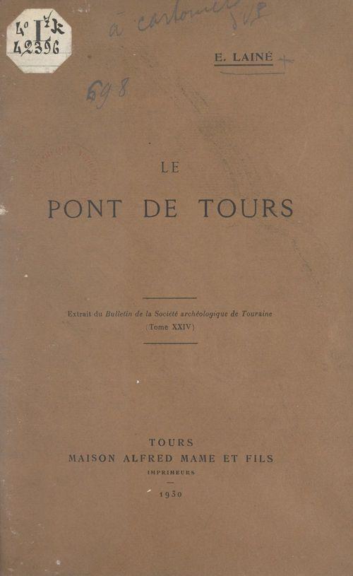 Le pont de Tours
