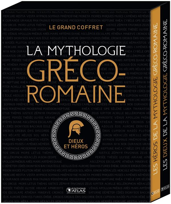 LE GRAND COFFRET DE LA MYTHOLOGIE GRECO-ROMAINE  -  DIEUX ET HEROS