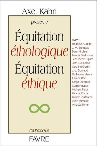 équitation éthologique, équitation éthique