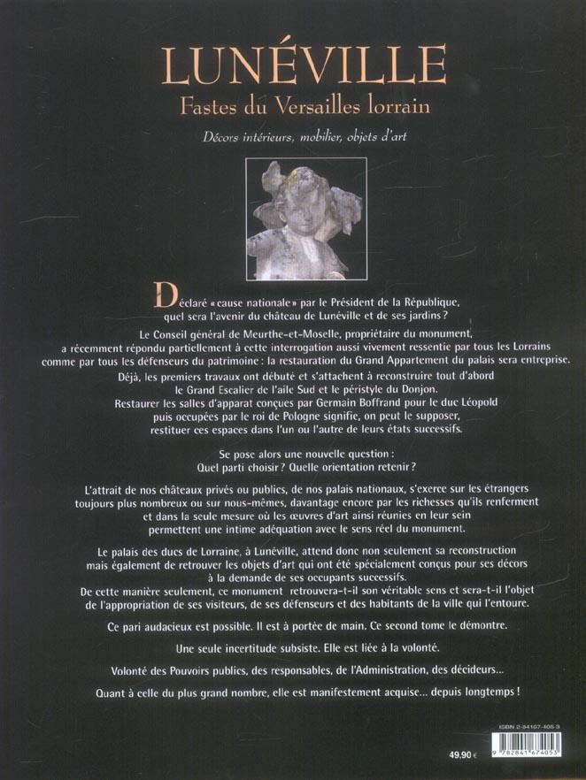 Luneville t2-faste du versailles lorrain