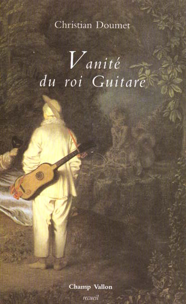 Vanite du roi guitare