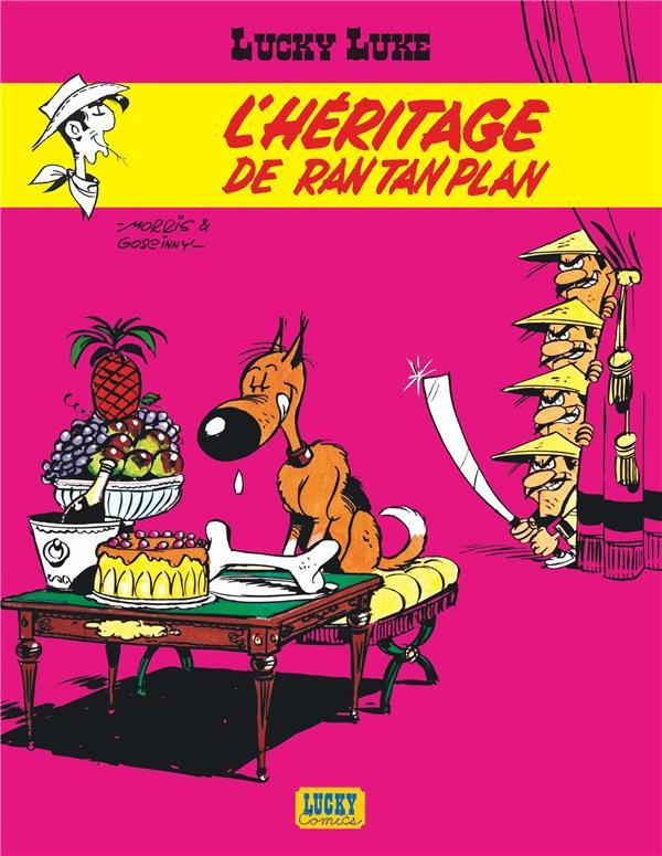Lucky Luke T.11 ; l'héritage de Rantanplan