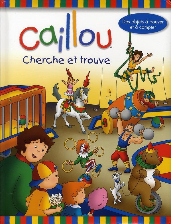 Caillou Cherche Et Trouve