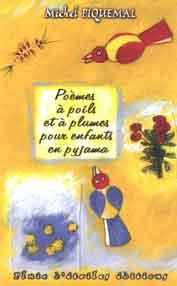 Poemes a poils et a plume pour enfants en pyjama