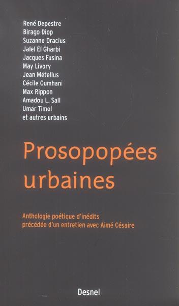 Prosopopées urbaines