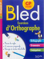 Exercices d'orthographe ; cp