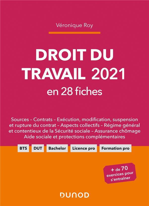 Droit du travail en 28 fiches (édition 2021)