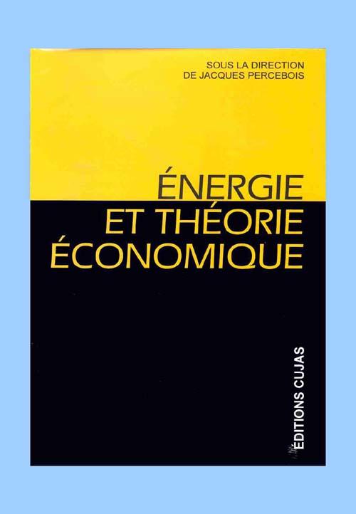 énergie et théorie économique
