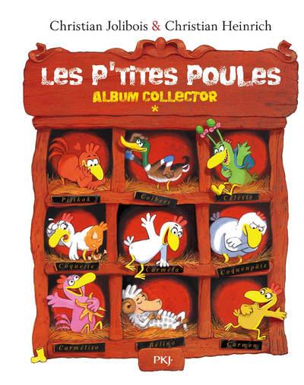 Les P'tites Poules ; INTEGRALE VOL.1 ; T.1 A T.4