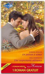Vente EBooks : Un patron à aimer - Une surprenante attirance - Un fabuleux mariage  - Barbara Wallace  - Nina Harrington  - Judy Christenberry
