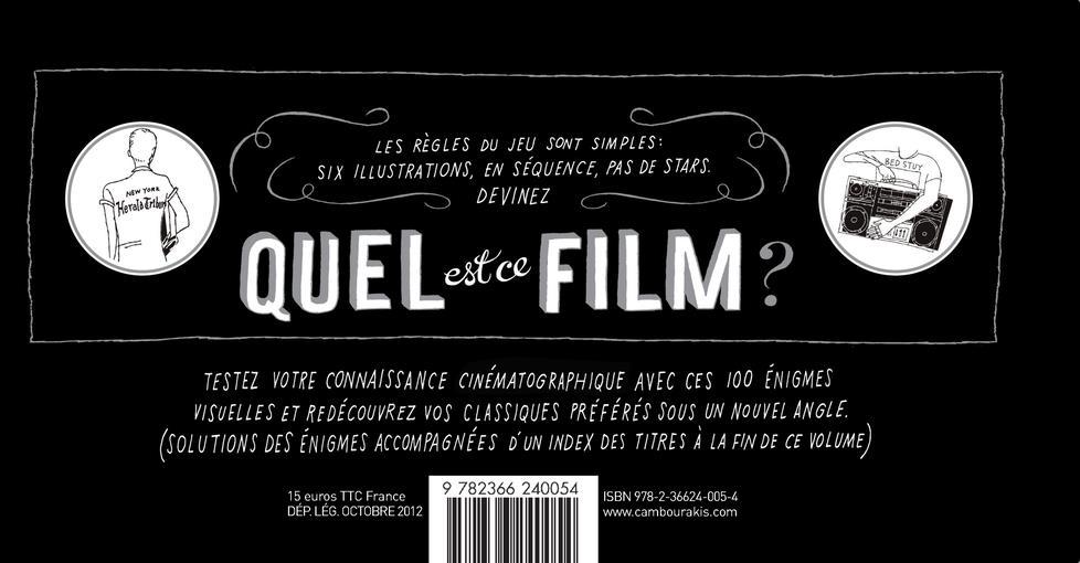 Quel est ce film ? 100 rébus illustrés pour cinéphiles