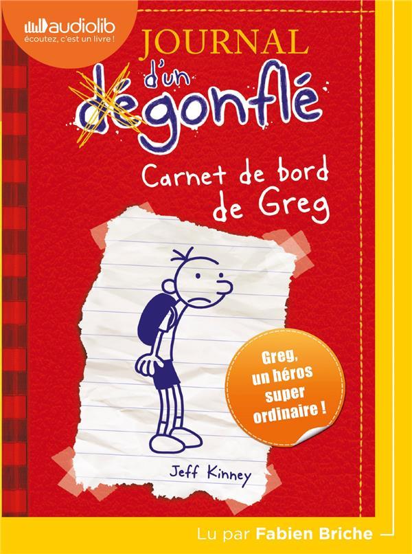 Journal d'un dégonflé T.1 ; carnet de bord de Greg
