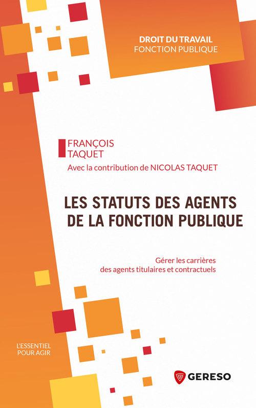 les statuts des agents de la fonction publique