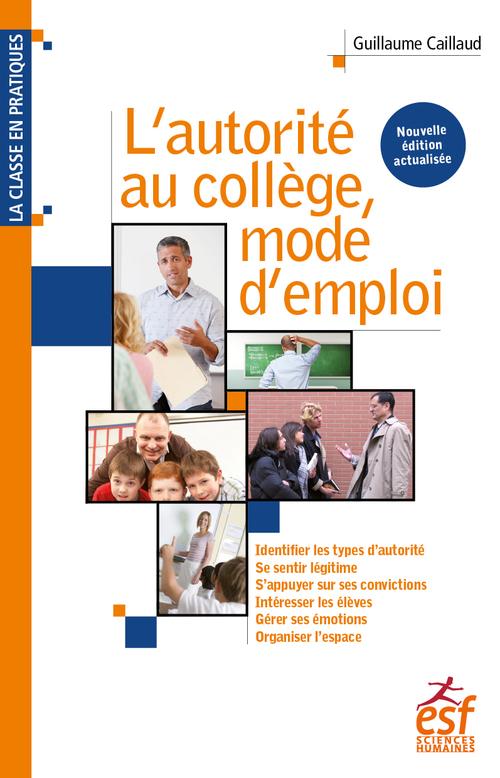 L'autorité au collège mode d'emploi