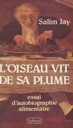 Vente Livre Numérique : L'Oiseau vit de sa plume  - Salim Jay