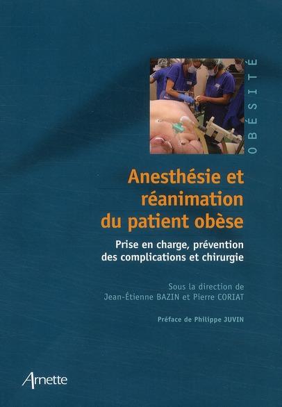 Anesthesie Et Reanimation Du Patient Obese