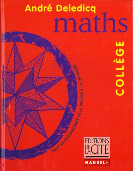Mathematiques college