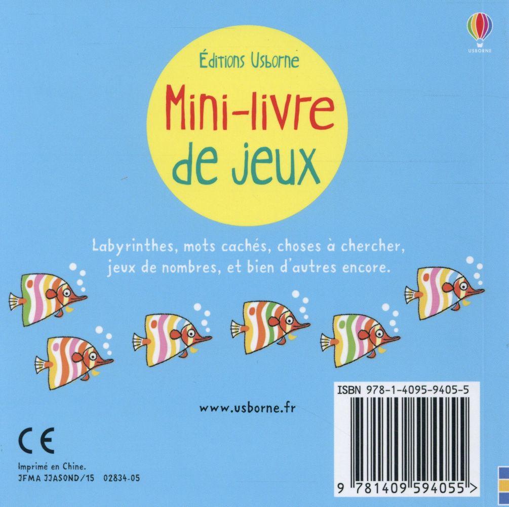 mini-livre de jeux