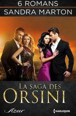Vente EBooks : La saga des Orsini : l'intégrale  - Sandra Marton