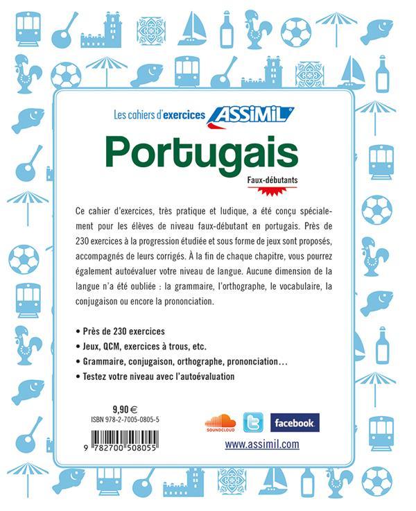 Portugais ; faux-débutants (édition 2019)
