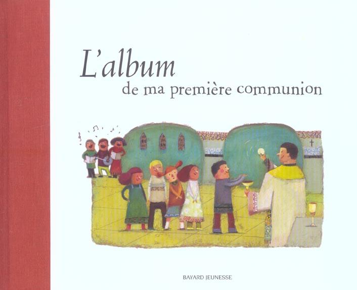 L'album de ma première communion