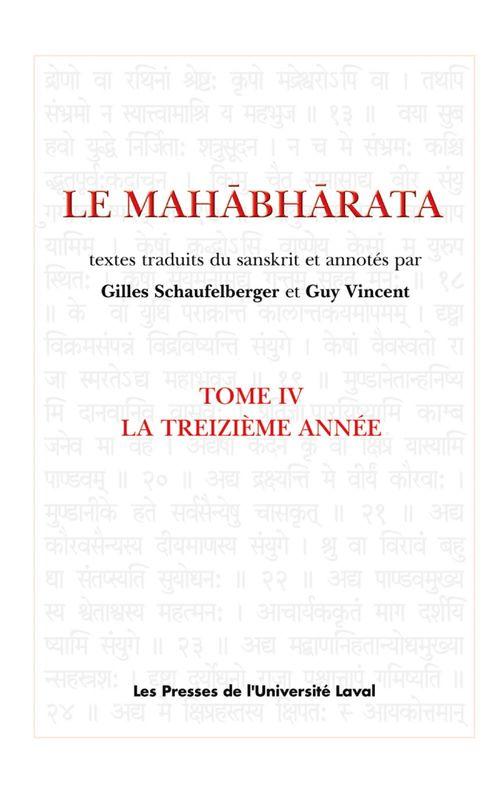 Le Mahâbhârata t.4 ; la treizième année