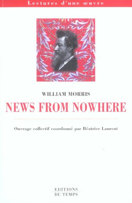 News from nowhere, de William Morris