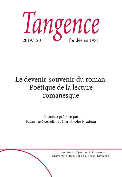Tangence. No. 120,  2019