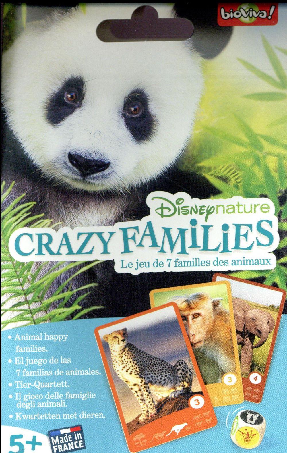 Disney nature ; crazy families