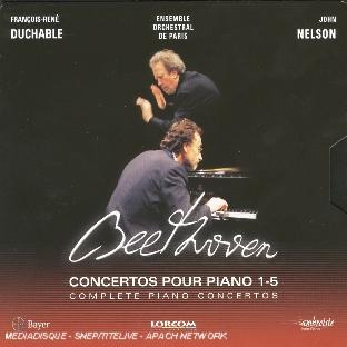 Beethoven, concertos pour piano 1-5 : Complete piano concertos