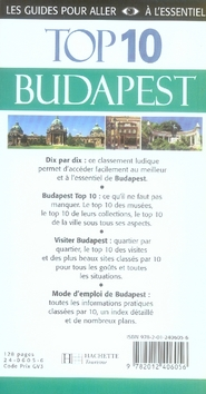 TOP 10 ; Budapest